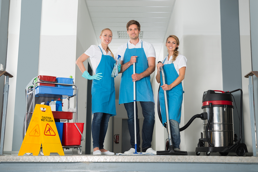 Healthcare Cleaning Management Team