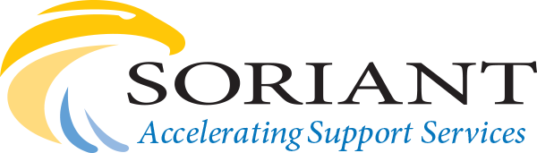 Soriant accelerating support services logo